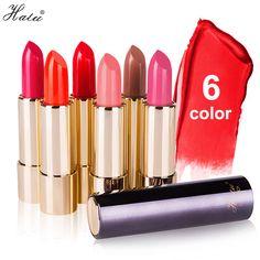 Halu Brand Lipstick Moisturizing Lipstick Rouge Waterproof Lasting Beauty Baby Lips Lasting Hydra Nourish 6Color Free Shipping