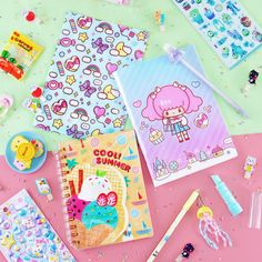 Shop Kawaii products discounted up to with Free International Shipping! ❤ Choose from plushies, accessories, stationery and more! Stationery Items, Cute Stationery, Stationary, Japanese Candy, Cute Japanese, Kawaii Subscription Box, Kawaii Gifts, Kawaii Accessories, Kawaii Shop