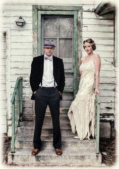 Art Deco/Gatsby 1920s Wedding Inspiration