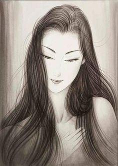 Японский художник Ichiro Tsuruta.