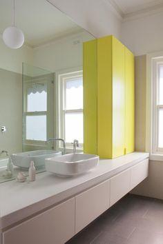 Doherty Design Studio's Hawthorn Residence Two Bathroom.     Photographer: Gorta Yuuki