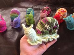 Items similar to Crochet Stuffed Animal Snails on Etsy First Birthday Parties, First Birthdays, Snail Craft, Snails, Crochet Animals, Image Collection, Needlework, Crochet Patterns, Creatures