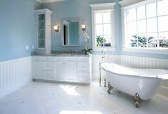 Inneneinrichtung weißes Badezimmer altes design trends zetgenössisch