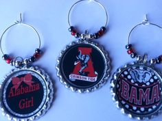 College Theme Party Favors Wine Charms and more..