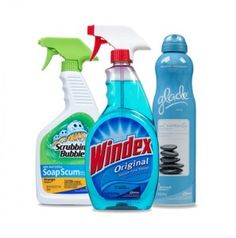 Save on Windex, Pledge, Glade and More
