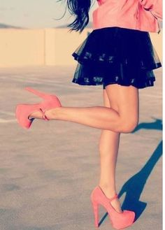 I love those shoes  #fashion #pink