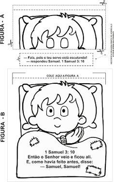 Samuel Paper Bag Puppet Craft for Children. This craft