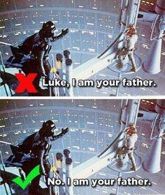 One of the most commonly misquoted movie lines.