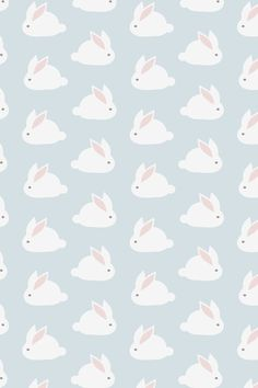 Fondo de pantalla de conejitos Kawaii / a Kawaii rabbit's wallpaper