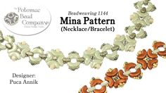 """This video from The Potomac Bead Company teaches you how to make Puca's """"Mina"""" element, which can be used for necklace, bracelet, earring, or pendant pattern..."""