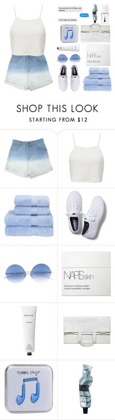 """""""I love mac an cheese"""" by sofhiree20 ❤ liked on Polyvore featuring Pull&Bear, Christy, Keds, Courrèges, NARS Cosmetics, Rodin, Maison Margiela, Happy Plugs, Aesop and Christian Dior"""