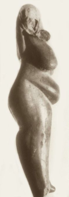 Clay icon (Goddess figure) from Hacilar VI, circa 5400 BCE, western Turkey.