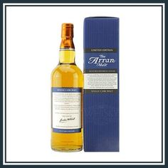 "Arran Trebbiano d'Abruzzo ""Marina Cvetic"" Cask Isle Of Arran, Single Malt Whisky, Distillery, Whiskey Bottle, Pure Products"