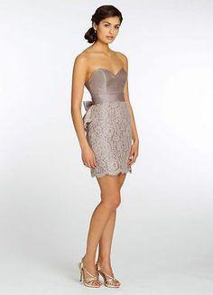 JIm Hjelm Noir Lazaro Bridesmaid dress Taupe size 8 Bridesmaid for Zab & P. Love the color!!