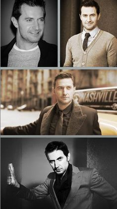Richard Armitage....Gosh, this man is gorgeous.