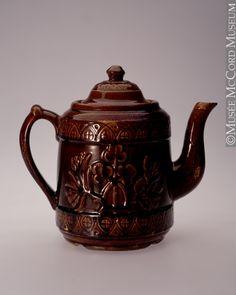 Teapot Cap Rouge Pottery Co. 1860-1892