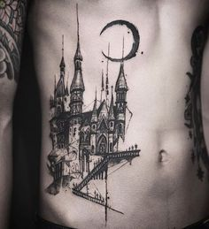 Design © @tattooer_nadi Nadi  Seoul Korea  naditat2@gmail.com #tattooernadi #tattrx  #문신 #seoul #castle #blackwork #tattoo #tattoos #blackink #bodyart #gothic #bnw_society #тату #ink #inked #tattooed #tattooartist #tattooist #tatouage #kunst #darkbeauty #koreastyle #romantic #illustration #architecture #archidaily #architecturelovers #archilovers