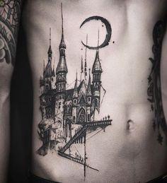 Design © @tattooer_nadi Nadi Seoul Korea naditat2@gmail.com #tattooernadi #tattrx #문신 #seoul #castle #blackwork #tattoo #tattoos #blackink #bodyart #gothic #bnw_society #тату #ink #inked #tattooed #tattooartist #tattooist #tatouage #kunst #darkbeauty #koreastyle #romantic #illustration #architecture #archidaily #architecturelovers #archilovers