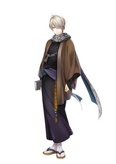 通常 Anime Kimono, Male Kimono, Anime Manga, Character Outfits, Character Art, Character Design, Cute Anime Boy, Anime Guys, Role Player