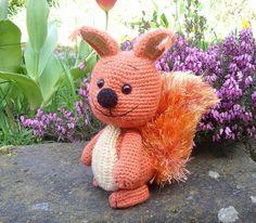 Alwin the squirrel amigurumi PDF crochet pattern by Nowacrochet, €4.50