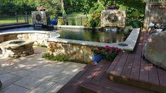 Pond Design, Patio, Outdoor Decor, Home Decor, Decoration Home, Room Decor, Home Interior Design, Home Decoration, Terrace