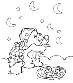 find this pin and more on kaitlyns first birthday free carebears coloring pages