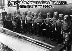 Despicable Me was also a live-action flm from the 1920's