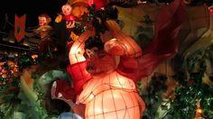 上海元宵節燈會2016豫園新春民俗藝術燈會,祝大家猴年行大運,發大財,猴年大吉Shanghai Lantern Festival 12