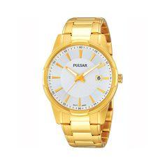 Gold Tone Dress Watch #zinastore