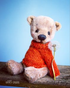 #teddybear Teddybear, Gnomes, Dolls, Sweet, Artist, Cute, Animals, Beautiful, Baby Dolls