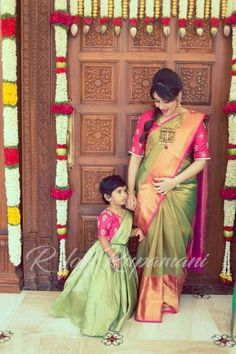 Mother daughter matching outfits ideas for wedding season - Indian Fashion Ideas
