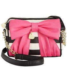 Betsey Johnson Macy's Exclusive Crossbody - Betsey Johnson - Handbags & Accessories - Macy's