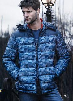 Tomas Skoloudik + Fabio Mancini Get Sporty with Armani Jeans Fall/Winter 2014