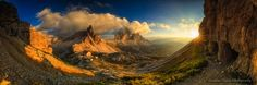 Tre Cime Di Lavaredo Sunset Panorama Photo by Hannes Nitzsche — National Geographic Your Shot