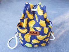 Monograma plátano mochila mochila pequeña regalo para por GoodChic