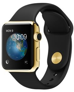 Shop Apple Watch Edition 38mm 18-Karat Yellow Gold Case with Black Sport Band online at lowest price in india and purchase various collections of Wearable Technology in Apple brand