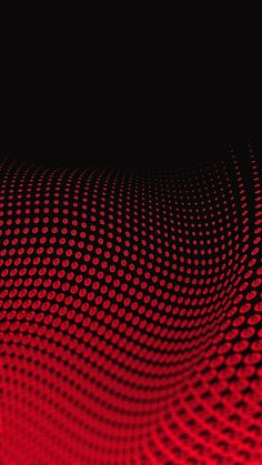 Wallpaper Full Hd 1080 X 1920 Smartphone Red Wave 3d Abstract ...