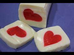 ▶ Gelatina de San Valentín. Valentines Jello - YouTube