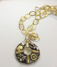 caracol inspired jewelry and handbags mars and valentine nautical wheel necklace 24400 - Mars And Valentine