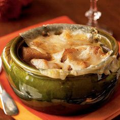 Slow cooker onion soup