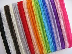 Wholesale Stretch Headbands | Wholesale Stretch Lace Headbands Set of 10 by ScrappyToSassy, $11.25