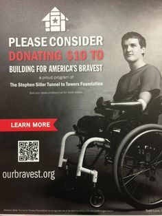 Support Building for America's Bravest with a tax deductible donation!