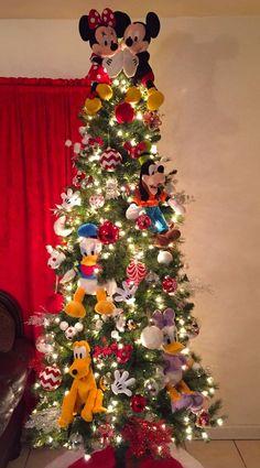 Disney christmas tree ornaments mickey mouse ideas for 2019 Christmas Tree Decorations For Kids, Mickey Mouse Christmas Tree, Disney Christmas Ornaments, Christmas Themes, Kids Christmas, Merry Christmas, Xmas Trees, Holiday Tree, Vintage Christmas