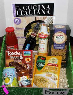 Showroom by Creative-Pink: Brandnooz Box Bella Italia - Dolce Vita in der Box & Brandnooz Box Mai - Wohliges im Wonnemonat