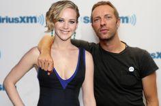 "Jennifer Lawrence and Chris Martin enjoy ""romantic..."