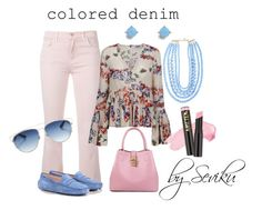 """Untitled#066"" by seviku on Polyvore featuring J Brand, Tod's, MSGM, BaubleBar, Christian Dior, Vera Bradley and L.A. Girl"