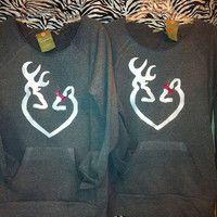 Huntress slouchy sweatshirt