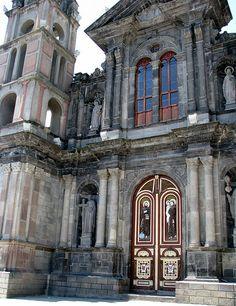 Otavalo Church, Ecuador. By Ximo Pons