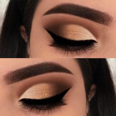 girls, when you get your liner sharp & right, take a photo to document the achievement  .. @anastasiabeverlyhills dipbrow dark brown @makeupgeekcosmetics shadows: sidekick, cocoa bear, frappe, americano, legend, starry eyed @luxylash pretty on fleek @morphebrushes slate liner & brushes