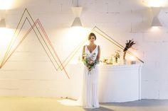 Urban Geometric Chic Heiraten mit Spartipps von Jane Weber | Hochzeitsblog - The Little Wedding Corner